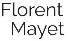 Florent Mayet, chef d'Orchestre